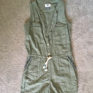 Old Navy Green Jumper size 14